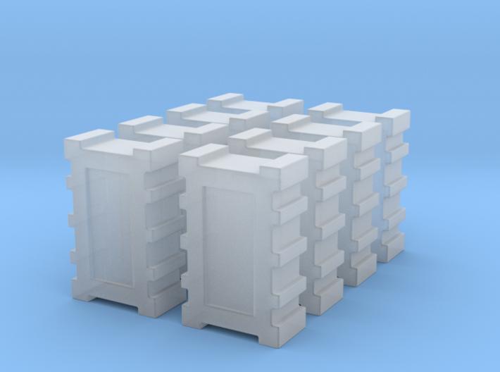 1:43 DEAGO FALCON YT1300 ANH CARGO BOX SET MODEL B 3d printed