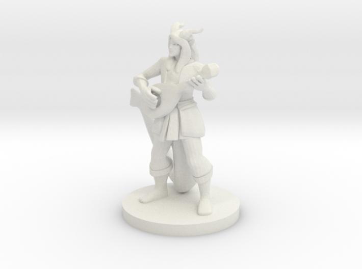 Tiefling Bard 3d printed