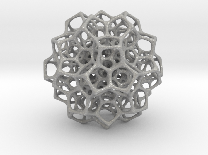 Christmas tree decoration ornament - 120cell_A4_r5 3d printed