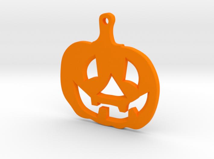 Halloween emblem 3d printed