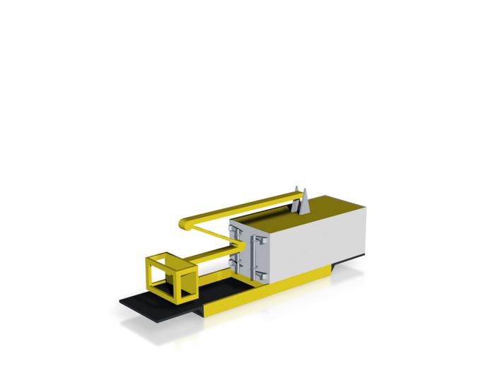 Ffestiniog Rly P-Way Box Lift Wagon 3d printed