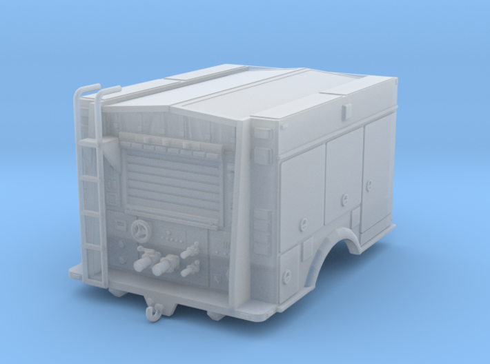 1/64th US forest Service type III Wildfire body 3d printed