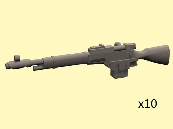 28mm Steampunk Mosin M1891 laser rifles 3d printed