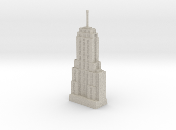 Palmolive Building (1:1200 scale) 3d printed