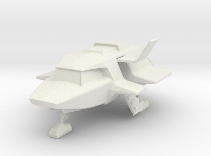 Skyfighter - Door Open (V, The Visitors) 3d printed