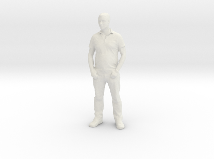 Printle F Homme Michel Berger - 1/18 - wob 3d printed