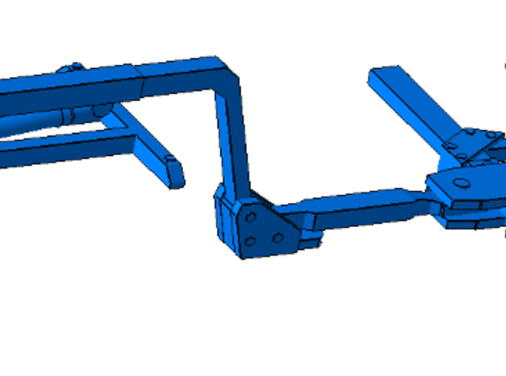 164th Repo pickup bed tow wrecker hook  3d printed
