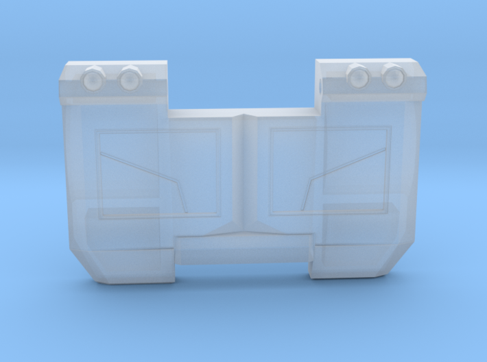 Laser Optimus Prime Chest For TR 3d printed