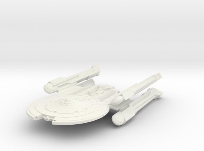 Mckee Class VII Refit BattleCruiser 3d printed