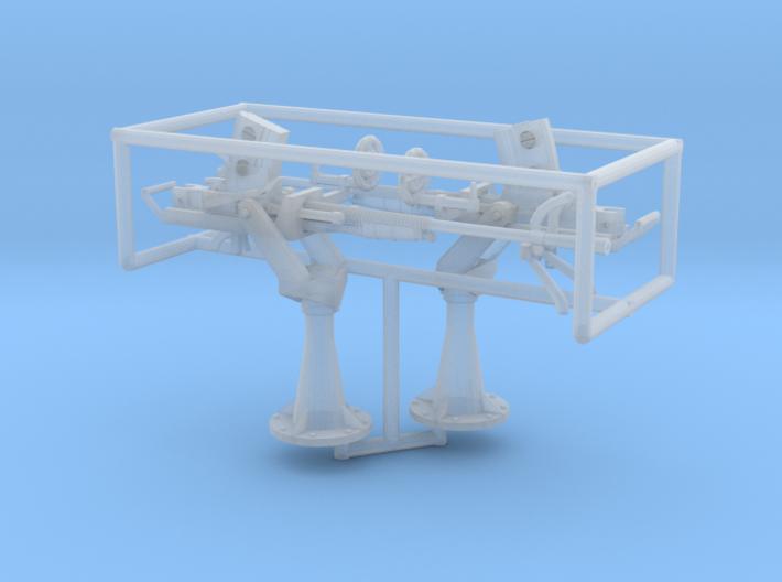 2 X 1/56 IJN Type 96 25mm Single Mount 3d printed