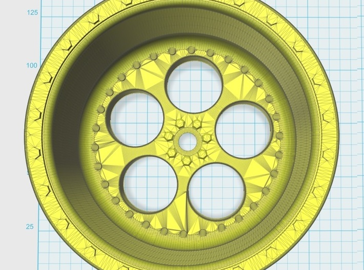 Eagle Rims Design 2 3d printed