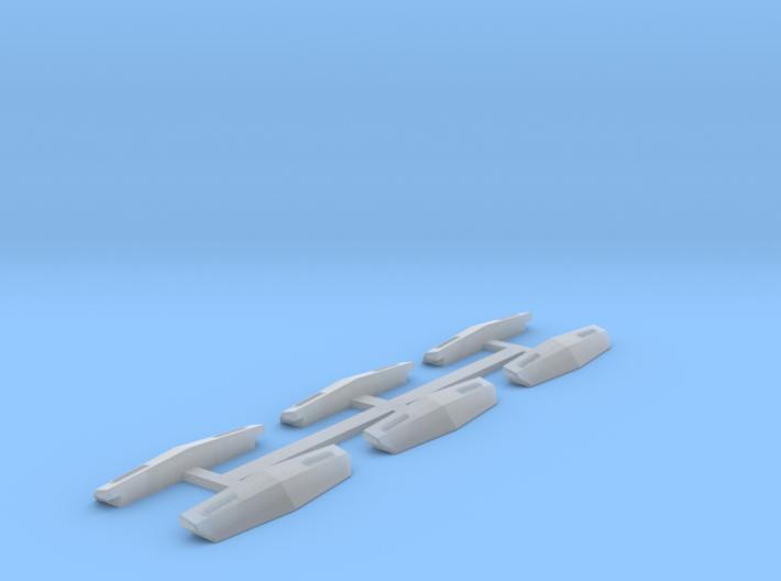 N Scale Frisco Plow 6 3d printed
