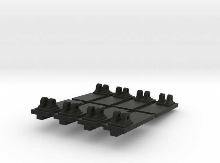 Set of 8 Pivots for 1:24 scale model of a Royal Na 3d printed