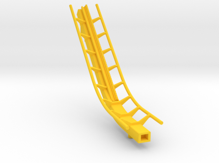 roller coaster lift 3d printed