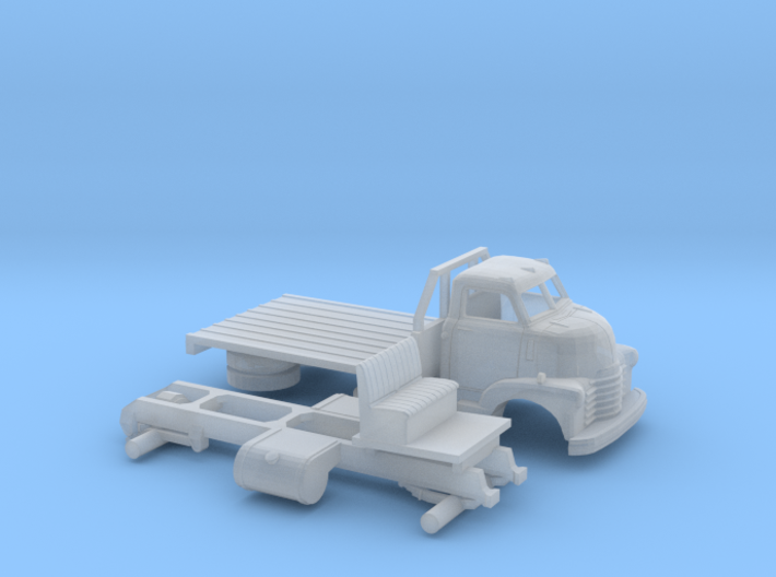 1/120 1949 Chevy COE Flatbed 3d printed