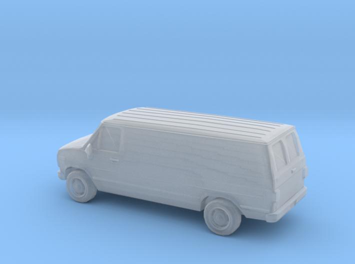 1/120 1X 1988 Chevrolet G Series Van 3d printed