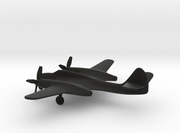 McDonnell XP-67 Moonbat 3d printed