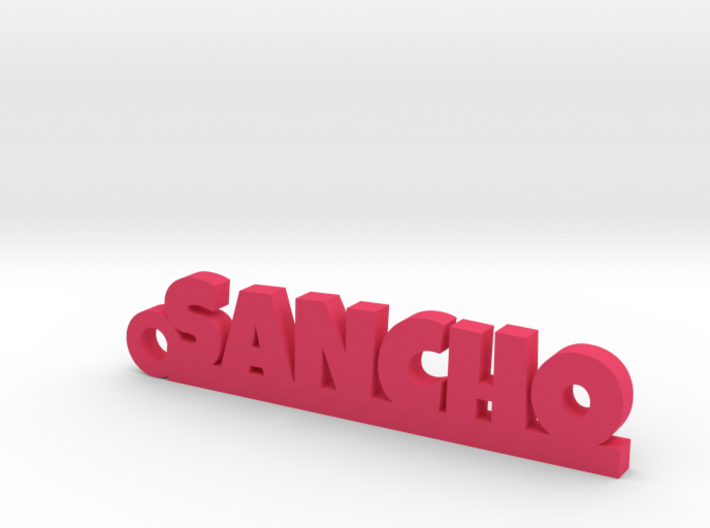 SANCHO_keychain_Lucky 3d printed