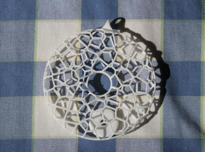 Pendulum L 3d printed Necklace in WSF