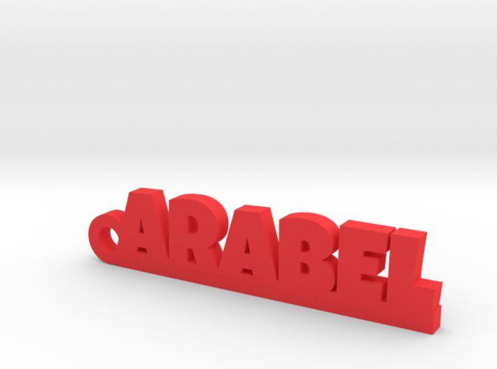 ARABEL_keychain_Lucky 3d printed