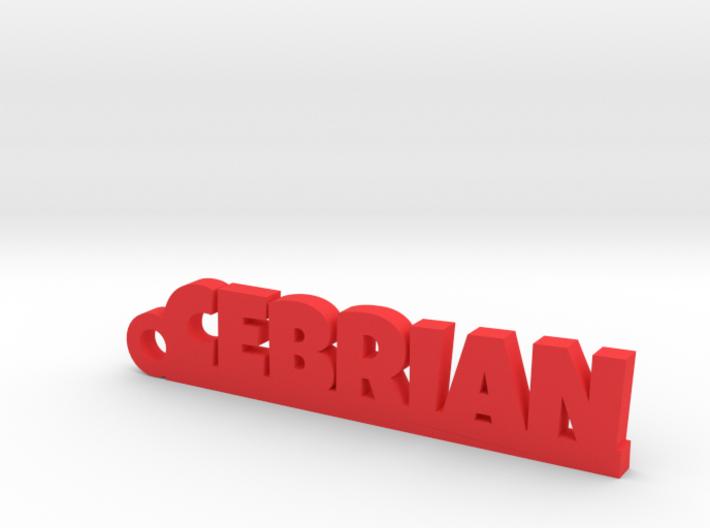 CEBRIAN_keychain_Lucky 3d printed