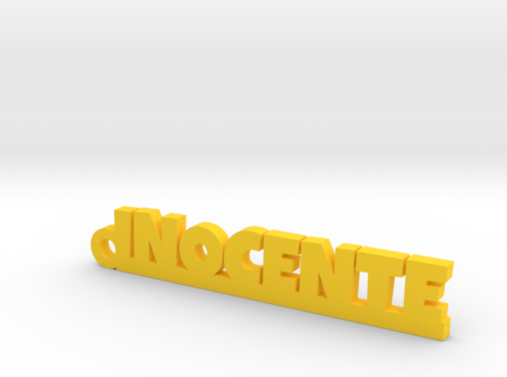 INOCENTE_keychain_Lucky 3d printed