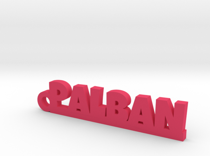 PALBAN_keychain_Lucky 3d printed