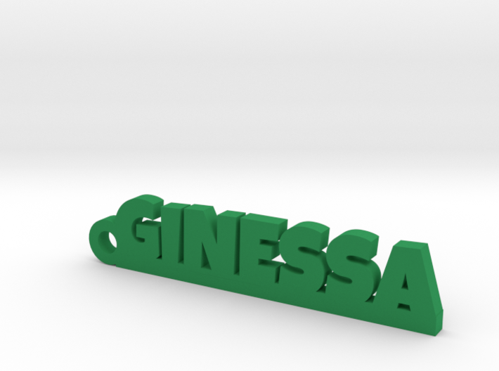 GINESSA_keychain_Lucky 3d printed