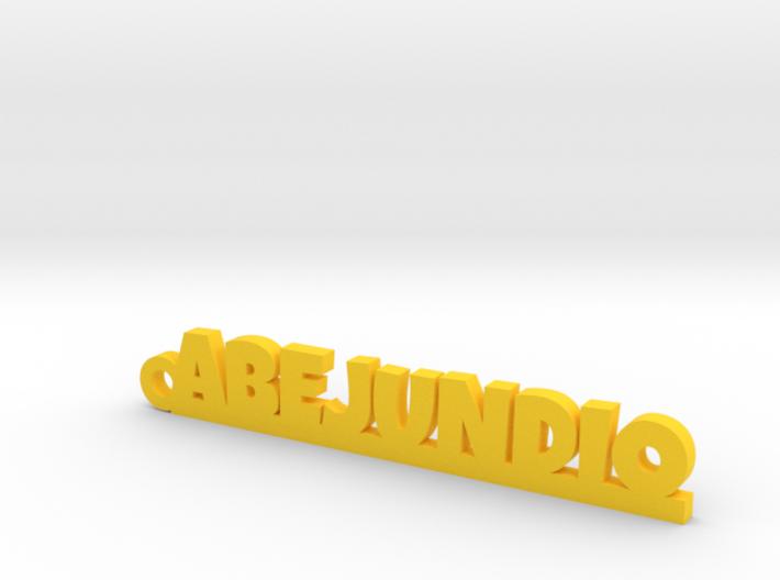 ABEJUNDIO_keychain_Lucky 3d printed