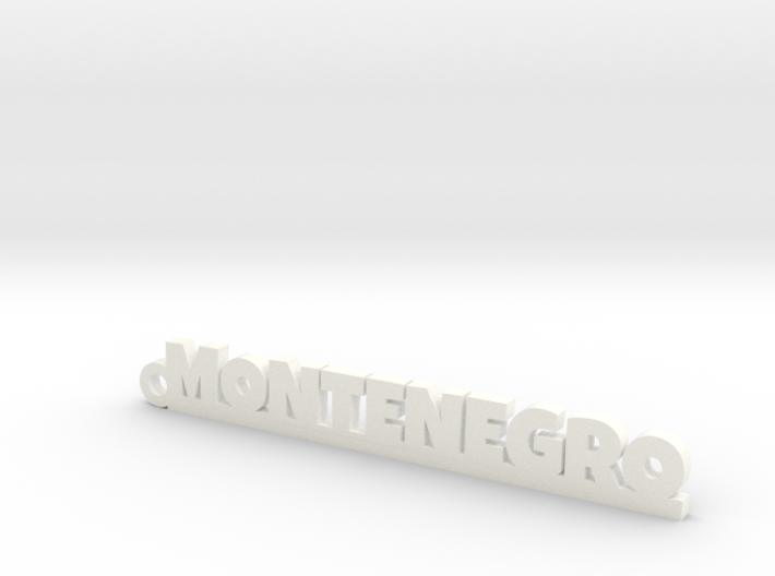 MONTENEGRO_keychain_Lucky 3d printed