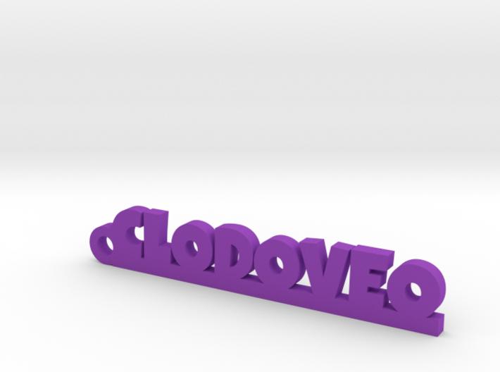 CLODOVEO_keychain_Lucky 3d printed