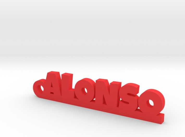 ALONSO_keychain_Lucky 3d printed