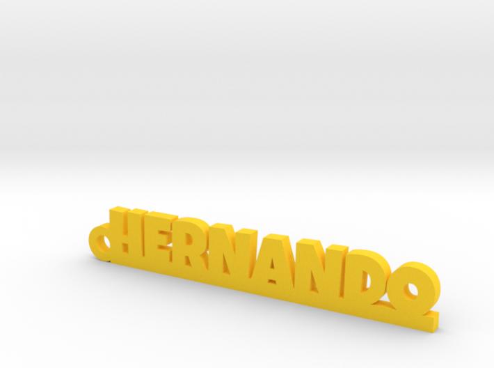 HERNANDO_keychain_Lucky 3d printed