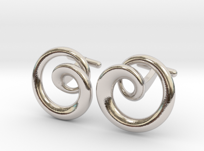 Cydonia Cufflinks pair 3d printed