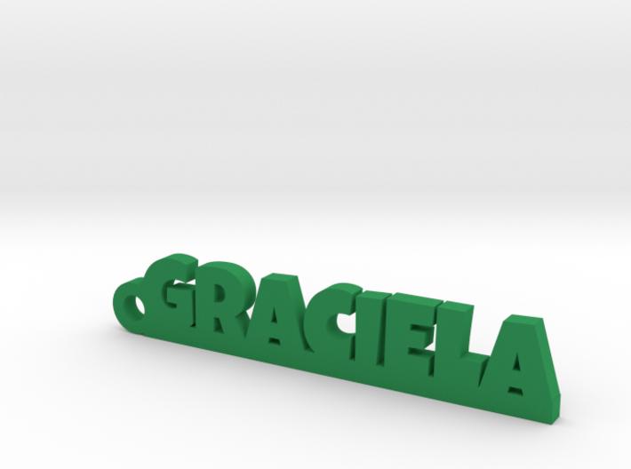 GRACIELA_keychain_Lucky 3d printed