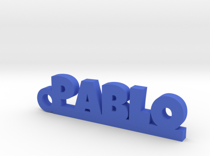 PABLO_keychain_Lucky 3d printed