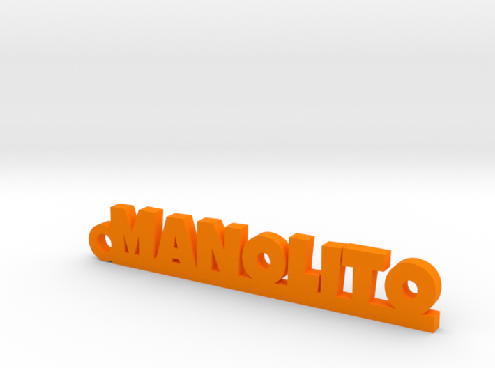 MANOLITO_keychain_Lucky 3d printed