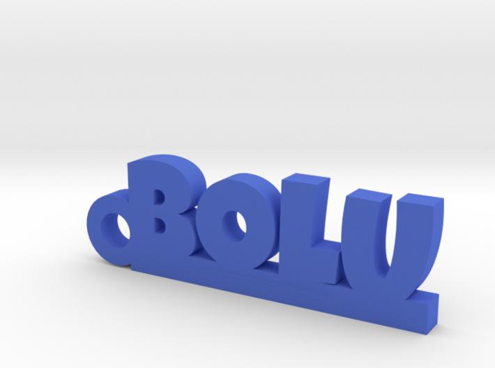 BOLU_keychain_Lucky 3d printed