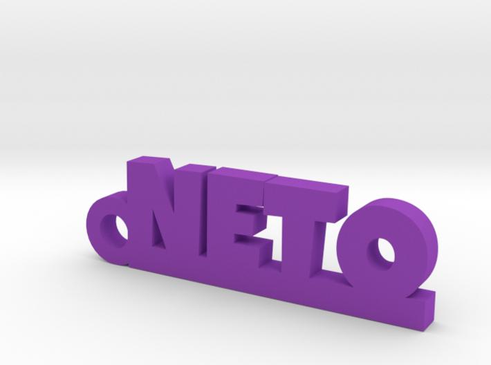 NETO_keychain_Lucky 3d printed