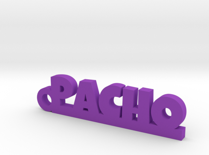 PACHO_keychain_Lucky 3d printed
