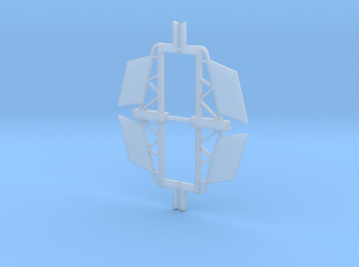 Y-Wing Sealab Vector fins 3d printed