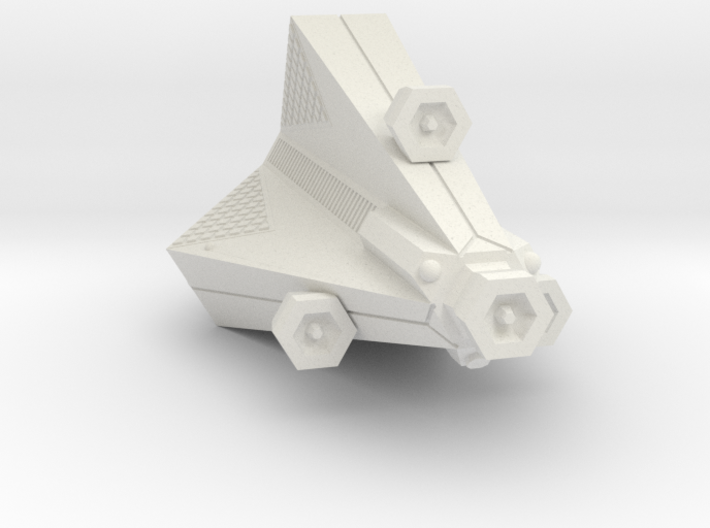 3125 Scale Tholian Destroyer Scout (DDS) SRZ 3d printed