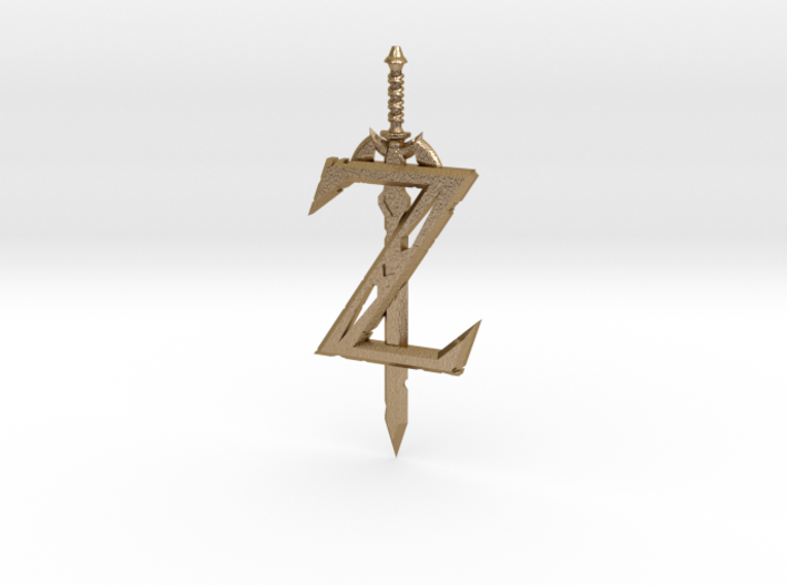 Breath of the Z -- Pendant 3d printed