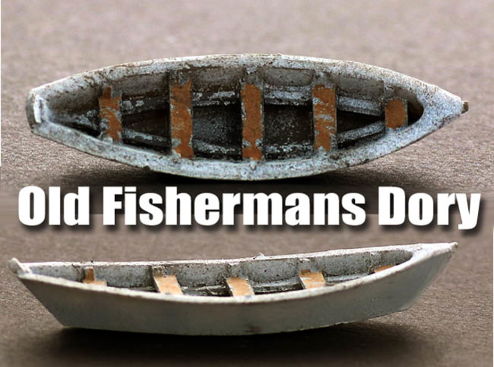Fishermans Dory O Scale Boat 3d printed