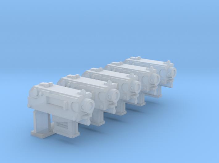 Human-sized Thunder-pistol 3d printed