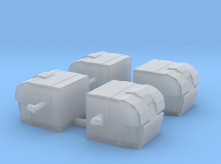 1/400 HACS Mk.V Directors 3d printed