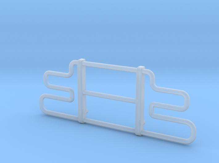 1-25 Semi Brush Bumper 3d printed