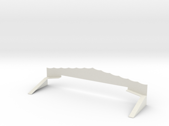 Sea Dragon Scenery and Exit Ramps 3d printed