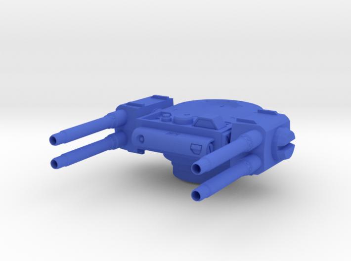 quad_turret 3d printed