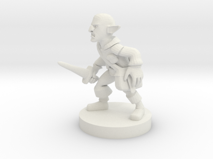 Deep Gnome Rogue 3d printed